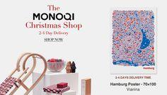 Bin dieses Jahr mit dem Hamburg Poster und dem Berlin Poster beim Christmas Shop von MONOQI dabei. Juhuu dazu!