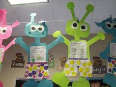 "Activity for the book ""Aliens Love Underpants"""
