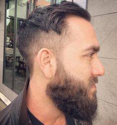 Taper Cut And Beard