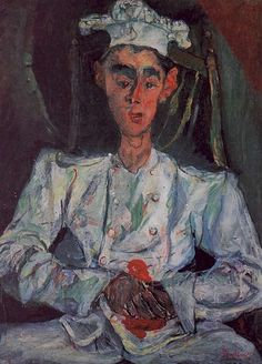 Chaïm Soutine - the Little Pastry Cook