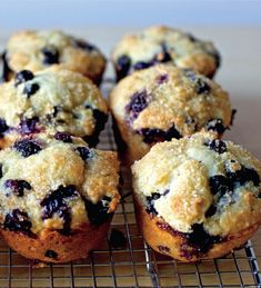 Perfect Blueberry Muffins - The Happy Foodie