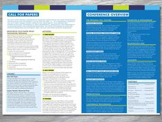 conference program book template