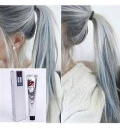 New hair grey color pastel Ideas