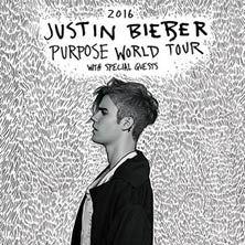 La superstar Justin Bieber ha annunciato le date internazionali del suo Purpose World Tour 2016. Due gli appuntamenti in Italia, in vendita dalle ore 10 di giovedì 17 dicembre su TicketOne.it!