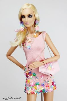 Special order from a customer dress '' Summer Pink '' Kingdom Doll