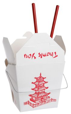 Grabbing take out doesn't mean throwing out all of your hard work from your diet. Here are some tips for navigating the Chinese take-out menu. Chinese Takeout Box, Chinese Takeaway, Chinese Food Menu, Take Out Menu, Food Containers, Everyday Objects, Dinner Menu, Food Packaging, Made In America