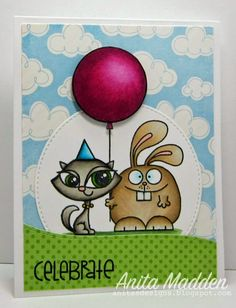 Just A Pigment Of My Imagination: Paper Smooches - Party Pals
