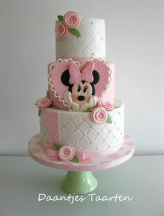First birthday - Cake by Daantje | CakesDecor.com