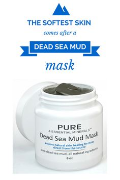 7b9fc30305da Try the natural cleansing effects of a Dead Sea Mud Mask today - see why  people
