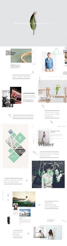 Web Design Trends Vol. 2 http://www.customwebdesignseo.com/engine/blog/web-design-trends-vol-2/ #design #art #graphicdesign
