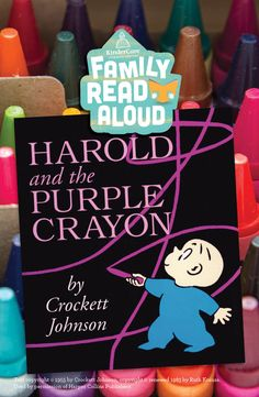 We love Harold's affinity for purple. But most of all we love Harold's marvelous imagination! A children's book classic, it's truly a must-read! www.kindercare.com/blog
