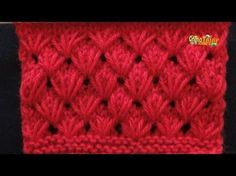 (Loop stitch) - Embossed Knitting Patterns- Free Knitting Tutorials - Watch Knitting- pattern 22 - YouTube
