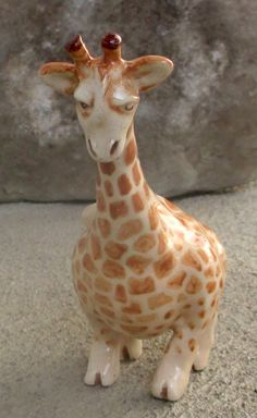 Giraffe Clay Whistle
