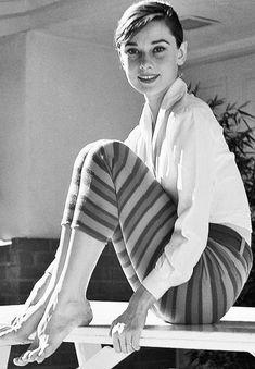 Audrey Hepburn by Mark Shaw, 1954