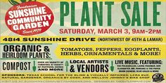 PLant Sale Fundraiser March 3 at my community garden - the plant list is nuts - there must be 200 varieties of tomato up for sale Varieties Of Tomatoes, Potager Garden, Konmari Method, March 3rd, Plant Sale, Local Artists, Live Music, Gardening Tips, Fundraising