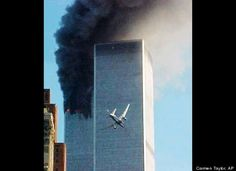 Unforgettable 9/11 Images Unforgettable 9/11 Images  In this Sept. 11, 2001 file photo, United Airlines Flight 175 approaches the south tower of the World Trade Center in New York shortly before collision as smoke billows from the north tower.