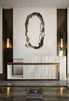 Best Place to find hotel lobby design Reception Desk Design, Lobby Reception, Reception Counter, Reception Areas, Office Reception, Design Entrée, Design Hotel, Restaurant Design, Interior Design