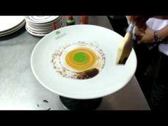 CHEF RAKESH food plating (sauce peinture) - YouTube