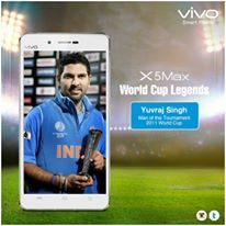 With 362 runs and 15 wickets in 9 matches, Yuvraj carried India on his back in the 2011 World Cup. Share his significant contribution to Indian cricket with friends using #vivoCricketFever.
