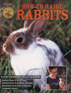 How to Raise Rabbits, approved by the Dept of Agriculture & FAA. In stock $17.99+ s