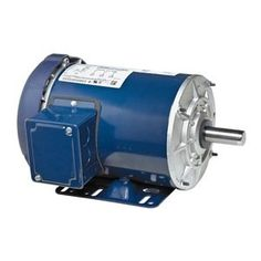 5K37NN30  General Purpose Motor, 3-Phase, 3/4 HP, Nameplate RPM 3450, Voltage 208-230/460, 56 Frame, Totally Enclosed Fan-Cooled, Number of Speeds 1, Full Load Amps 2.6-2.5/1.3, 60 Hz, Base Mounting, Thermal Protection None, Insulation Class B, Service Factor 1.25, Ball Bearings, Max. Ambient Temp. 40 Degrees C, Rotation CW/CCW, Overall Length 11-3/4 In., Shaft Dia. 5/8 In., Shaft Length 1-7/8 In., Capacitor Required No  http://www.airconditionercenter.com/5k37nn30/