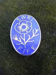 This is a nice SWRI badge for Fife. Womens Institute, Scottish Women, Jerusalem, Badges, Scotland, Nice, Vintage, Badge, Vintage Comics