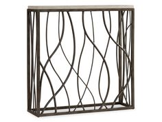 Hooker Furniture Living Room Thin Metal Console 5373-85001