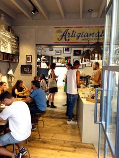 Ditta Artigianale. Coffee, vino, light lunch