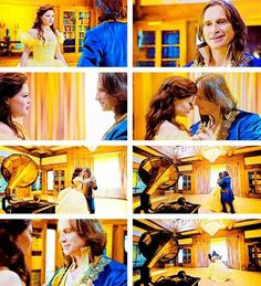 Beauty and the Beast! Yes, I screamed at this part it was so good!