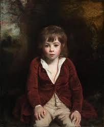 Portrait of Master Bunbury c.1786 by  Sir Joshua Reynolds