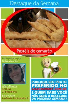"""Confira o """"Destaque da Semana"""" na page do aplicativo Ana Gourmet. https://www.facebook.com/AnaGourmet"""