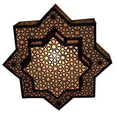 E Kenoz - Moroccan Ceiling Light Fixture - Pendant Lamp Chandelier, $325.00 (http://www.ekenoz.com/moroccan-lighting/moroccan-chandeliers/moroccan-ceiling-light-fixture-pendant-lamp-chandelier/)