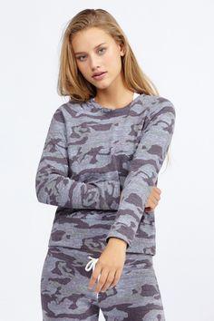 Camo Vintage Sweatshirt