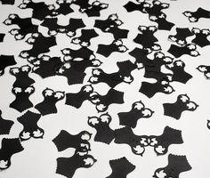 Black Corset Confetti perfect for Bachelorette by PinkPupsDesigns, $4.50
