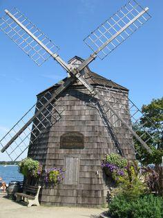 Sag Harbor, NY - Windmill on Long Wharf