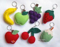 1001 Feltros: Tudo de Frutas!!