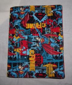 Superman Composition Notebook Cover by SherrysSewingandCroc on Etsy