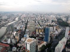 Saigon. View from Bitexco Tower