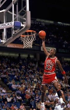 This basketball article documents Michael Jordan who is considered the top basketball player in history. Air Jordan won 6 NBA Championships and transcended his sport like no other athlete. Michael Jordan Basketball, Michael Jordan Chicago Bulls, Jordan 23, Jordan Logo, Jordan Cake, Jordan Shoes, Michael Jordan Dunking, Michael Jordan Quotes, Michael Jordan Pictures