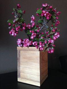 Wooden vase diy