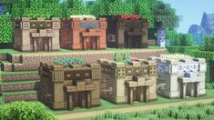 Minecraft Projects, Minecraft Designs, Minecraft Architecture, Starter Home, Sims, Crafts For Kids, Building, Home, Crafts For Children