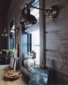 Kitchen Dishes, Kitchen Dining, Kitchen Appliances, Mountain Homes, Light Up, Bungalow, Wall Lights, Cottage, Cozy
