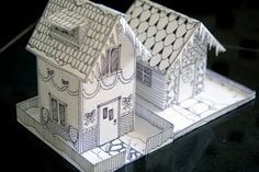 124 templates, tutorials, etc. for wee houses compiled by melstampz