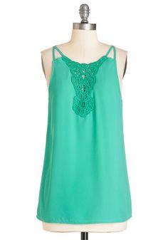 Turquoise singlet
