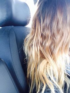 Blonde ombre. #Hair #Beauty #Blonde