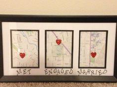DIY love map