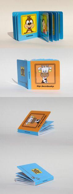 'Mijn dierenboekje' vol met vrolijke dieren. Binnenkort te bestellen bij Bibado.nl