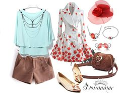 """""""Clothing for Valentine's Day - sammydress.com Contest Set"""" by donnamae-harkness ❤ liked on Polyvore"""