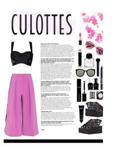 """Culottes"" by hellodollface ❤ liked on Polyvore featuring Roksanda, STELLA McCARTNEY, Bobbi Brown Cosmetics, Givenchy, Karen Walker, Repossi, Deborah Lippmann, Illuminum, Byredo and NARS Cosmetics"