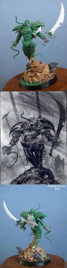 Styrkaar -Lord of Slaanesh- Green